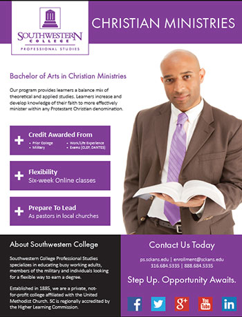 Online Bachelor's Degree in Christian Ministries