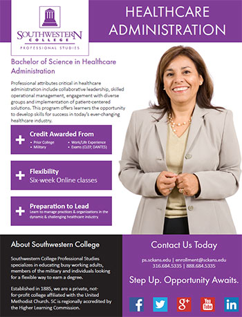 Healthcare Administration  Southwestern College Professional Studies