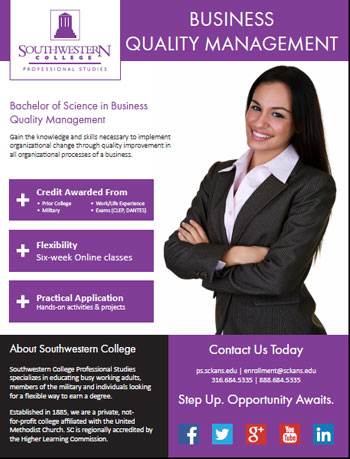 Online Bachelor's Degree in Business Quality Management