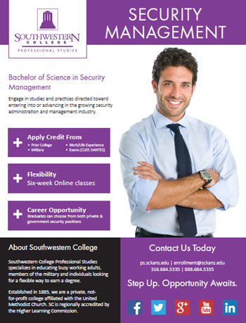 Online Bachelor's Degree in Security Management