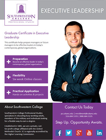 Online Graduate Certificate in Executive Leadership