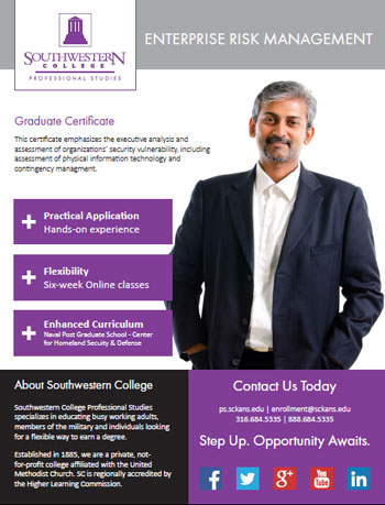 Enterprise Risk Management   Southwestern College