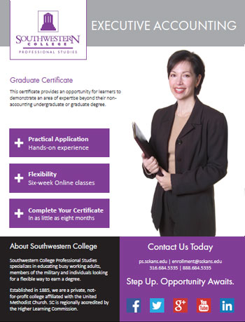 Online Graduate Certificate in Executive Accounting
