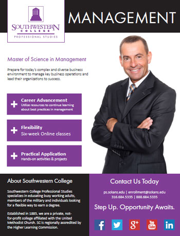 Online Master's Degree in Management