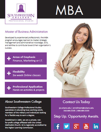 Online Masters's Degree in Business Administration