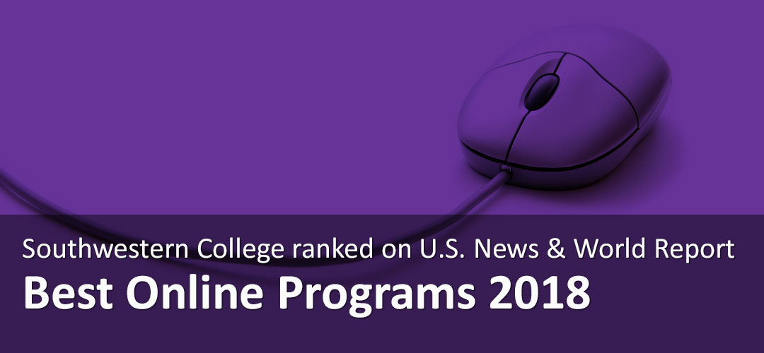 Southwestern College ranked on U.S. News & World Report Best Online Programs 2018