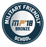 Military Friendly 2018 Bronze School
